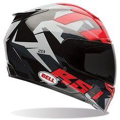 Bell RS-1 Topo Snow Camo Full Face Helmet