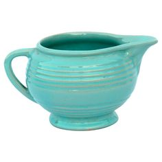 1930s Pacific Pottery Ringware Pitcher #huntersalley