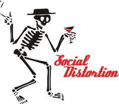 Social Distortion logo image: Social Distortion is an American punk rock band. Category: Music