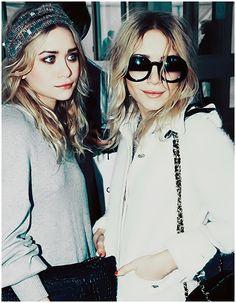 Mary Kate and Ashley.... I love their boho style