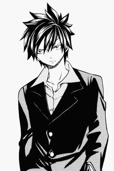 Gray Fullbuster - I UNDERTSAND WHERE JUVIA IS COMING FROM, LOOK AT THE BOY WILL YA