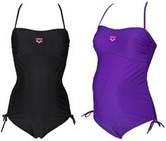 be97ccb44 You can t go wrong with a classic one-piece maternity swimsuit