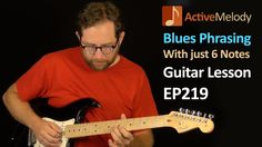 Easy Blues Guitar Lesson - Lead with just 6 Notes - Phrasing Lesson - Lead Guitar Lessons, Blues Guitar Lessons, Guitar Lessons For Beginners, Piano Lessons, Music Lessons, Guitar Solo, Music Guitar, Playing Guitar, Learning Guitar