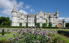 Balmoral Castle, Scotland    It was Prince Albert who first began to develop the garden at Balmoral Castle, after it was bought by Queen Victoria in the 1850s. Another royal consort, the Duke of Edinburgh, has taken a keen interest in the garden here, adding a kitchen and water garden. Picture: Alamy