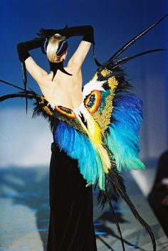 Thierry Mugler Haute Couture S/S 1997.