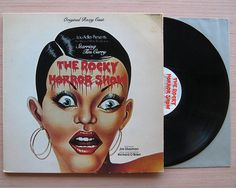 The Rocky Horror Show Vinyl Record LP Original Roxy cast Gatefold cover