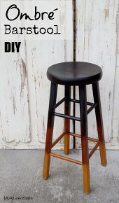 Refinished Ombré Barstool refinished ombr barstool my altered state, painted furniture Furniture Projects, Furniture Making, Furniture Makeover, Home Furniture, Bar Stool Makeover, Repurposed Furniture, Painted Furniture, Diy Bar Stools, Painted Stools