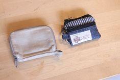 コインキーケースの作り方[型紙無料ダウロード] | ひらめき工作室 Kraft Bag, Minis, Origami, Zip Around Wallet, Coin Purse, Purses, Sewing, Bags, Coin Wallet