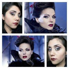 Make up inspiração Upon a Time bruxa má