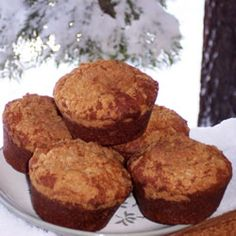 Banana Crumb Muffins    Been craving some muffins lately; banana is feelin' like the way to go.