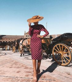 fashion_trendystyle on Insta Web Viewer Office Dresses For Women, Summer Dresses For Women, Fashion Week, Boho Fashion, Wedding Hats For Guests, Derby Outfits, Looks Chic, The Dress, Elegant Dresses