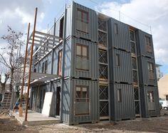 Projet Passerelle : Les 9 logements en structure container sont arrivés ! | Habitat & Humanisme