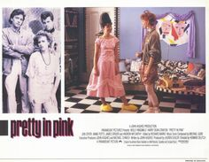 Pretty in Pink 11x14 Movie Poster (1986)
