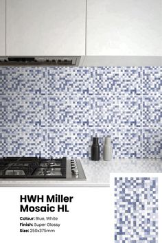 These gorgeous breezy ceramic tiles in a rich shades of blue with a neat gloss finish will offer an ethereal yet strong look to your interior plans. An ethereal decor choice for wall accents in bathrooms, kitchens etc. Serviceable in Southern India Price: ₹41/sq.ft or ₹440/sq. metre. See the tile in your space with the Trialook visualiser tool. #wall #tiles #wallaccent #kitchen #decor #bathroom #geometric #mosaic Kitchen Tiles, Kitchen Decor, Color Tile, Colour, Buy Tile, Tile Stores, Wall Accents, Wall Tiles, Ethereal