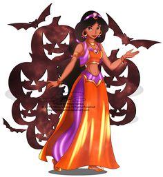 Jasmine+-+Halloween+outfit+by+selinmarsou.deviantart.com+on+@DeviantArt
