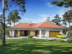 Projekt domu Aksamit MC Smart Home, Ideas Para, Gazebo, House Plans, House Design, Outdoor Structures, Architecture, Outdoor Decor, Pasta