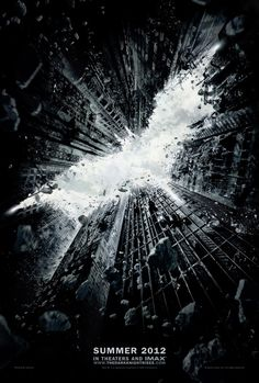 The Dark Knight Rises. This is the background screen for my cell phone. I love it. <3
