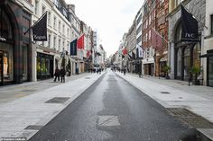 London's usually packed streets are deserted as the coronavirus pandemic spooks shoppers (. Night Club, Night Life, Beautiful London, Aviation Industry, British Airways, Survival Prepping, Ghost Towns, Birmingham, Britain