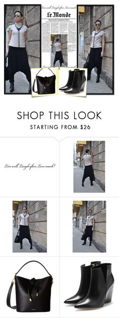 """""""CARAMELfs/7"""" by amra-2-2 ❤ liked on Polyvore featuring Michael Kors, Rupert Sanderson and Post-It"""