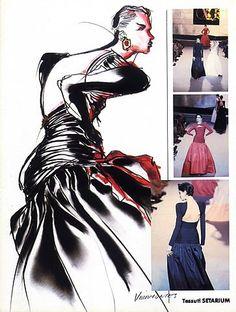 Valentino 1984 Evening Gown, Tony Viramontes by Tony Viramontes | Hprints.com