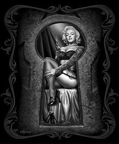Marilyn Monroe DGA Queen Blanket - Marilyn Monroe Infamous - Officially Licensed by DGA - Super Soft & Thick - Queen Blanket x - Polyester Marilyn Monroe Artwork, Marilyn Monroe Tattoo, Marilyn Monroe Quotes, Marilyn Monroe Drawing, Art Chicano, Chicano Tattoos, Tattoos Realistic, Foto Picture, Tatoo