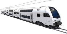 Stadler to supply double-deck EMUs to Sweden - International Railway Journal Electric Locomotive, Steam Locomotive, Trains, Double Deck, Electric Train, Train Engines, Rolling Stock, Train Car, Transportation Design