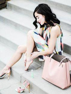 Pastel Colors Outfit Idea