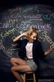 Katelyn Tarver's Buzzmaker Chalk Board Photo Shoot