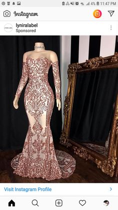 Champagne Luxurious Mermaid 2019 African Dubai Evening Dresses Sheer Neck Lace Beaded Prom Dresses Sexy Formal Party Bridesmaid Gowns color and size can be custom made .if you have any other problems ,please feel free to contact our customer service. Mermaid Prom Dresses Lace, Prom Girl Dresses, Prom Outfits, Beaded Prom Dress, Homecoming Dresses, Sexy Dresses, Evening Dresses, Pretty Dresses, Bridesmaid Dresses