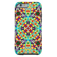 An unique abstract pattern with different shapes and pattern. kaleidoscope effect and creative warp is use to make this pattern. You can also customized it to get a more personal look. #abstract #geometric #trendy #multicolored #colorful #unique #modern #great-pattern #square #circle #yellow-pattern #blue-shapes