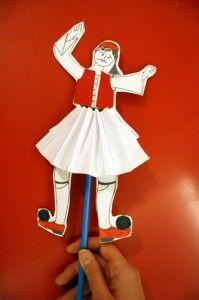 Τσολιαδάκι κούκλα Greek Life, Ronald Mcdonald, Fictional Characters, Style, Swag, Fantasy Characters, Outfits