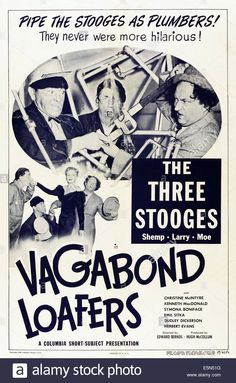 Vagabond Loafers, Top From Left: The Three Stooges-moe Howard, Shemp Stock Photo, Royalty Free Image: 72379708 - Alamy
