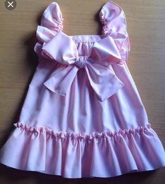 Cotton Frocks, Sewing For Kids, Sewing Ideas, Summer Dresses, Baby, Women, Color Rosa, Samara, Ideas Para