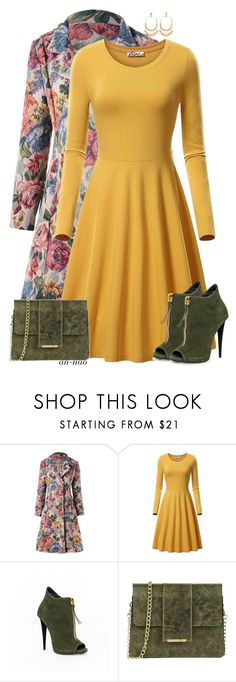 """""""AN #110"""" by an-nao ❤ liked on Polyvore featuring Tuscany Leather, Chloé, ootd, floralprint and polyvoreeditorial"""