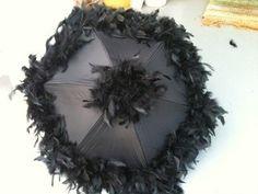 Wedding second line umbrella set black and by NewOrleansUmbrellaCo, $60.00