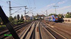 Loküberführung einer ES64U2 von Fulda nach Moers mit 230km/h