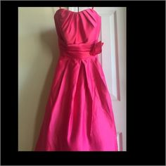 Pink Formal Party Dress Beautiful! Best word to describe. This is a stunner!  size 3/4 Strapless dress. Zipper back. Madeline Gardner Dresses Strapless