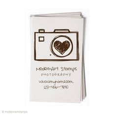 Custom Business Card Stamp  Custom Rubber Stamp by modernartstamps, $25.00