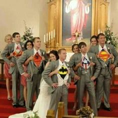 Wait, I'm sorry can the Avengers come to my wedding?