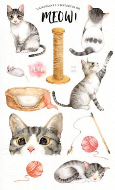 Gray Cats Susan Gray Rubber Stamp Chocolate Lover