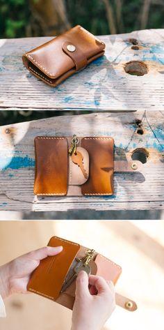 leather key wallet | Duram Factory Leather Key Case, Key Wallet, Sunglasses Case, Shopping