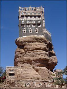 YEMEN # 1 - Palazzo sulla roccia di Dar Al-Hajar