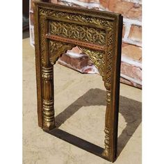 Palace Gates Hand Carved Solid #Rosewood #Frame http://www.sierralivingconcepts.com/