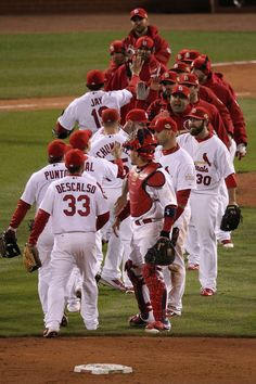After the first World Series Game win.