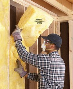 Energy Conservation: Know the R-Value of Insulation: Want to save money, energy and feel warmer this winter? Insulate your house the right way using these simple tips. - My-House-My-Home Home Improvement Projects, Home Projects, Home Fix, Energy Conservation, Diy Home Repair, Home Repairs, Home Reno, Home Remodeling, Ideas