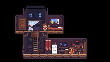 Title:Treehouse Interior Pixel Artist:Lunch