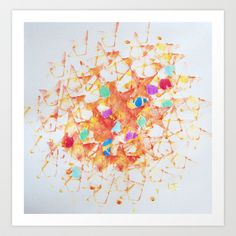 """Starburst"" Art Print by Art works by Lara Johnson - $33.28"