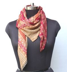 Woolen Scarf / Women's / Men's Scarves / Pure Natural Soft Wool Flax Lightweight Raw Genuine / Fashion Accessories Gifts for Her/ Him Woolen Scarves, Wool Scarf, Men's Scarves, Sari Fabric, Art Silk Sarees, Vintage Wool, Retro Fashion, Women's Fashion, Beautiful Outfits