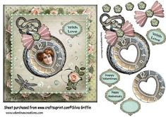 Love is Timeless SBS on Craftsuprint - Add To Basket!