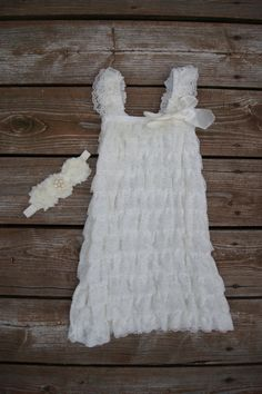 7ae3d3861 This is a lovely ivory soft lace dress. Perfect for any special occasion.  The · Girls Baptism ...